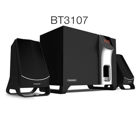 Boytone Wireless Bluetooth Speaker Powerful Bass System with FM BT-3107F