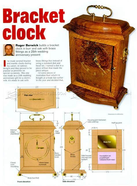 Bracket-Clock-Woodworking-Plans