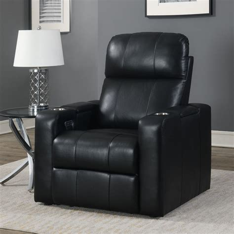 Bradley Leather Recliner By Pulaski Furniture