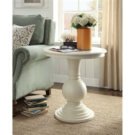Bradshaw White Side Table