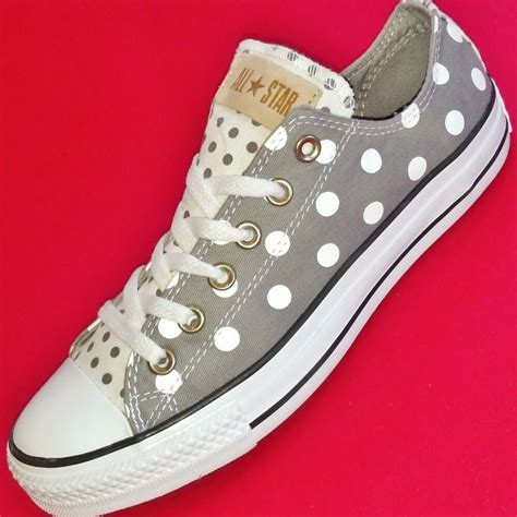 Brand New Converse Polka Dot Sneakers