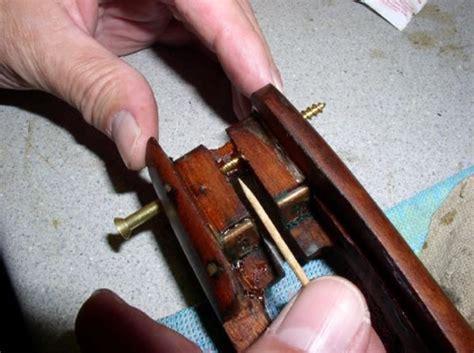 Brass Gun Stock Repair Screws And Lmt Fixed Rear Sight