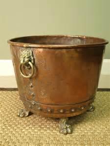 Brass-Log-Basket