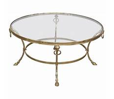 Best Brass coffee table makeover