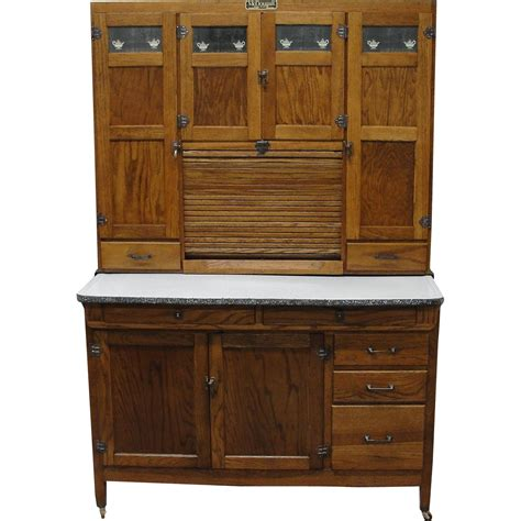 Bread Cabinet Antique Refinishing