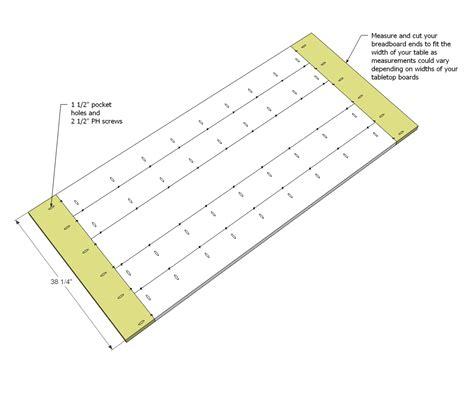 Breadboard-Table-Plans