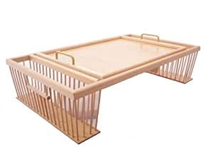 Breakfast In Bed Tray With Side Pockets