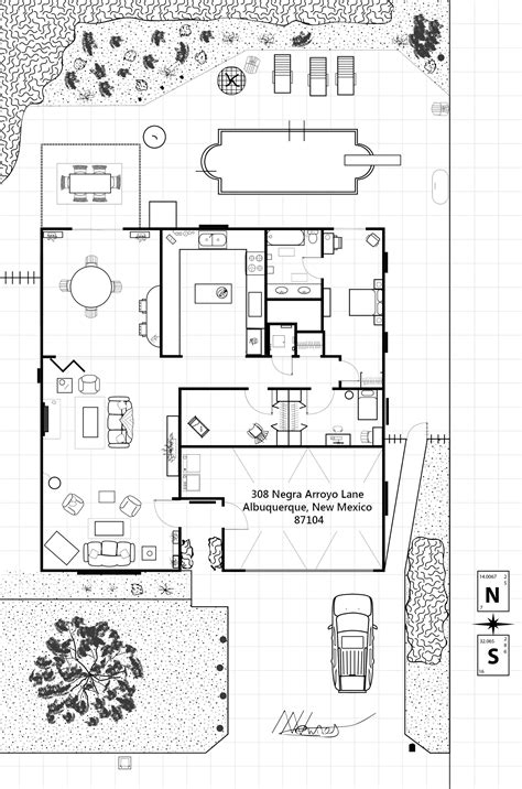 Breaking Bad Walter White House Floor Plan