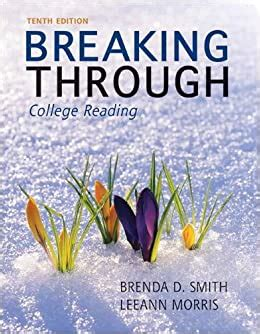 [pdf] Breaking Through College Reading 8th Edition By Brenda D. -1