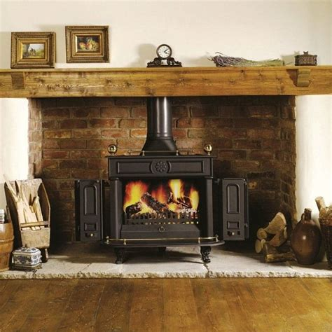 Brick Fireplace Designs For Wood Burning Stoves