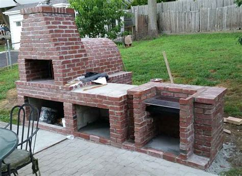 Brick-Oven-Plans-Wood-Fired-Pizza-Bbq-Grill-Smoker