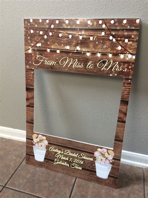 Bridal Shower Frame Diy Lego
