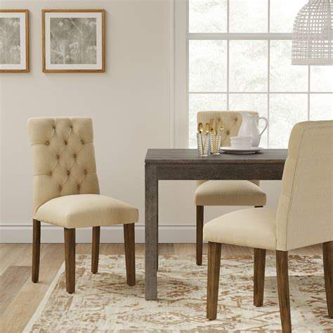 Brookline Tufted Dining Chair Glacier