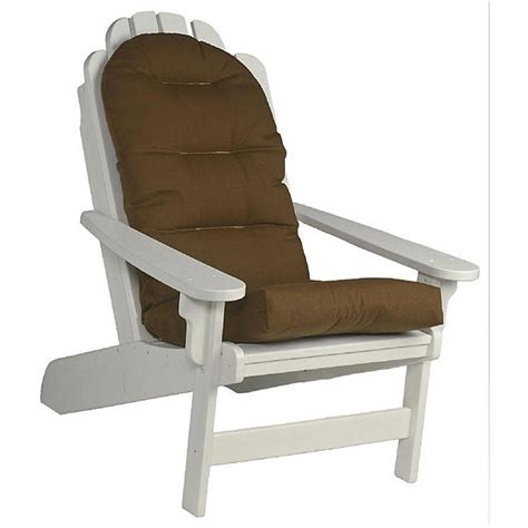 Brown-Adirondack-Chair-Cushion