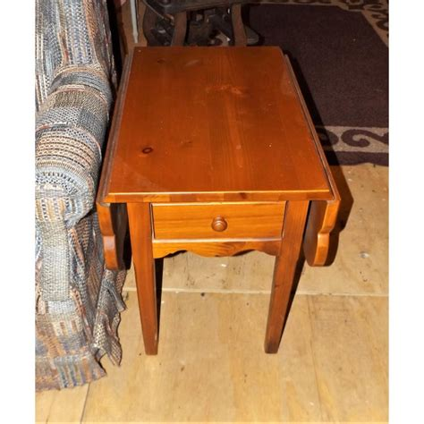 Broyhill Drop Leaf End Tables