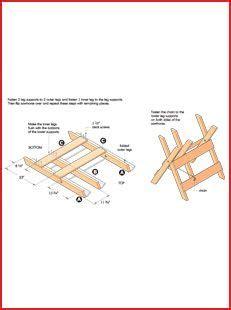 Brush-And-Log-Sawhorse-Plans