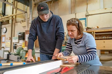 Bucks-County-Community-College-Woodworking