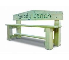 Best Buddy bench wood plans