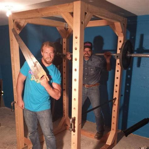 Buff Dudes Build A Power Rack