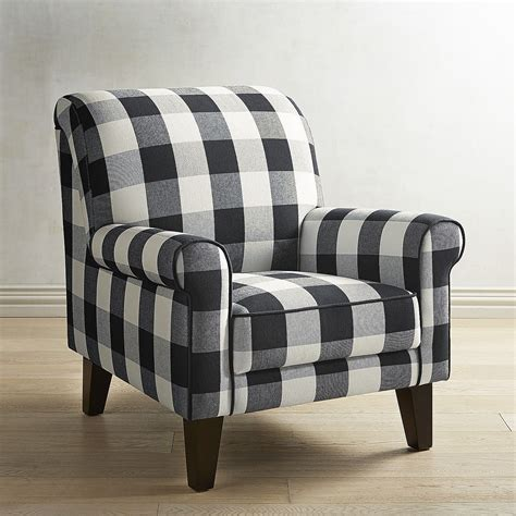 Buffalo Check Accent Chair