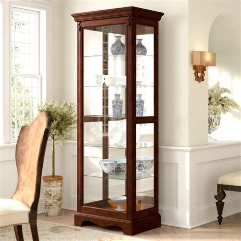 Buhler Console Curio Cabinets