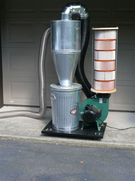 Build A 4 Inch Cyclone Dust Separator