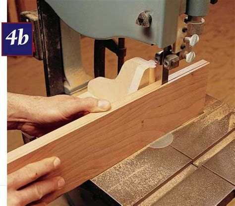 Build A Bandsaw Resaw Jig