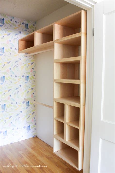 Build A Closet Organizer DIY
