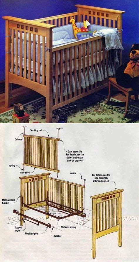 Build A Crib With Easy Woodwork Plans For Kids