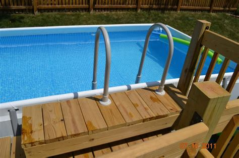 Build A Deck Around Intex Pool