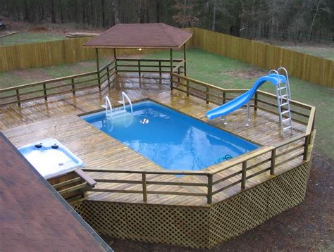 Build A Deck For Above Ground Swimming Pool