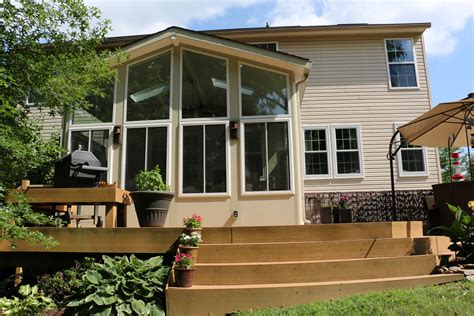 Build A Deck To Hold Sunroom