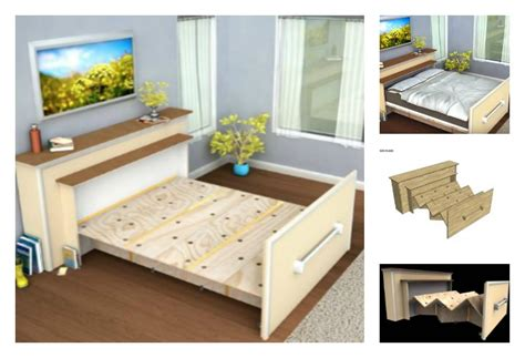 Build A Diy Built In Roll Out Bed Walmart