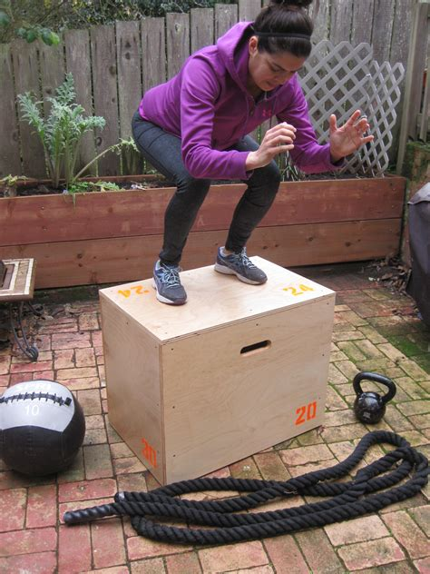 Build A Exercise Step Box