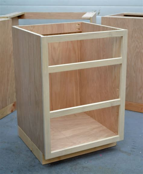 Build A Kitchen Cabinet Base