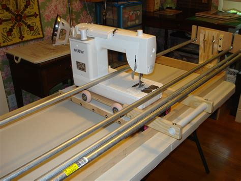 Build A Machine Quilting Frame Plans