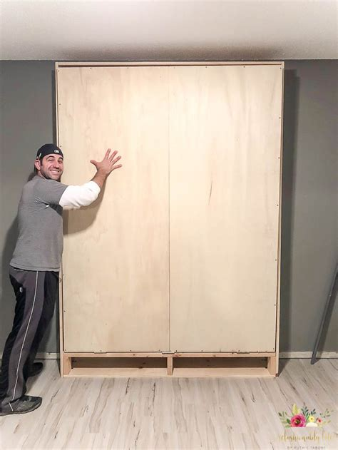 Build A Murphy Bed From Scratch