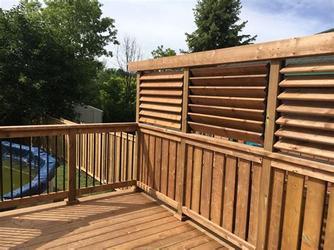 Build A Privacy Wall For Deck