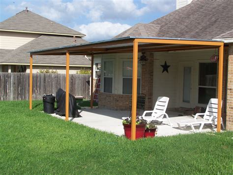 Build A Simple Deck Diy Awnings