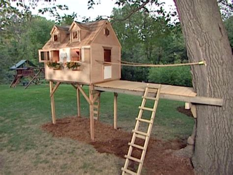 Build A Tree Fort