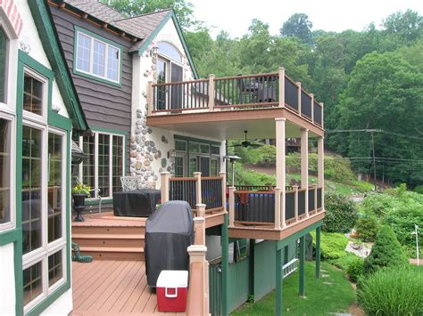 Build A Two Story Deck Diy Wrought