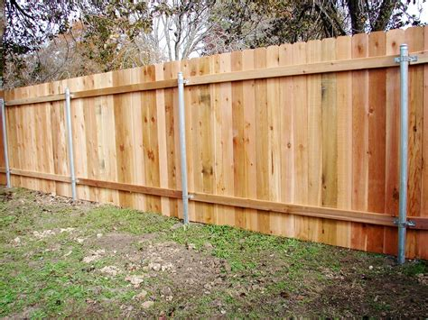 Build A Wood Fence With Metal T Posts