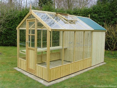 Build A Wooden Greenhouse Plans