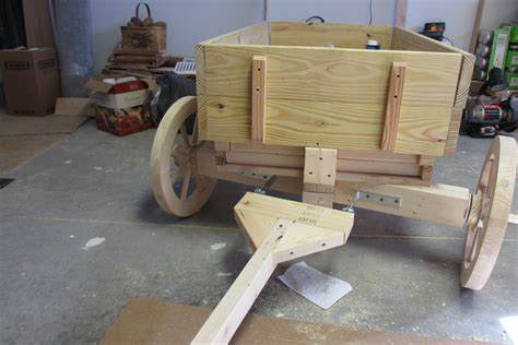Build A Wooden Wagon