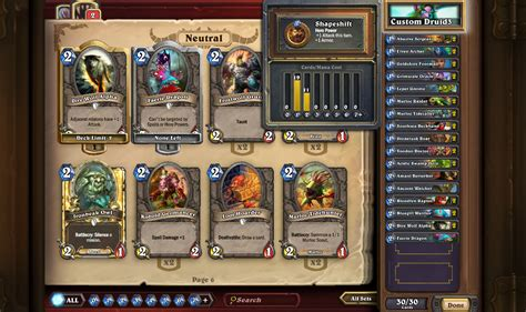 Build An Okay Deck Hearthstone Low Cost