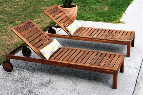 Build Chairs Deck Wooden