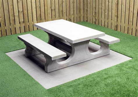 Build Concrete Picnic Table