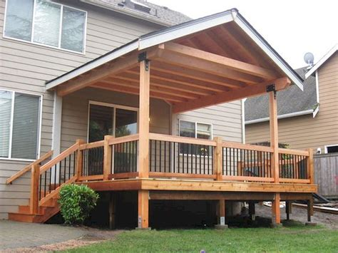 Build Covered Deck Roof