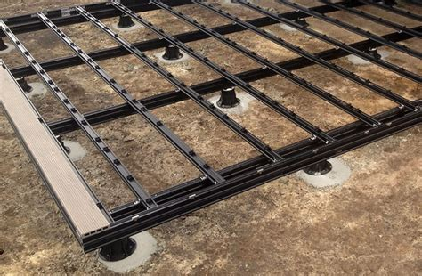 Build Deck Over Soil Layers