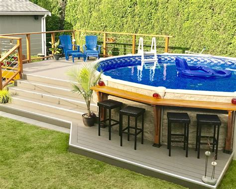Build Deck Over Swimming Pool